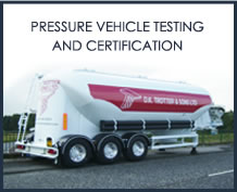 Pressure Vehicle Testing and Certification
