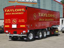Muldoon Transport Systems - Bulk Blowing Trailer