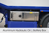 Aluminium Hydraulic Oil / Battery Box