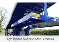 High Tensile Swedish Steel Chassis