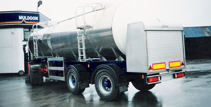 Muldoon Transport Systems - Milk Tanker Trailer