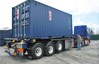 Muldoon Transport Systems - Tipping SDU Skeletal Trailer